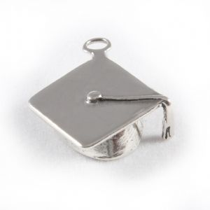 Charm School UK > Sterling Silver Charms > Miscellaneous > Graduation Cap